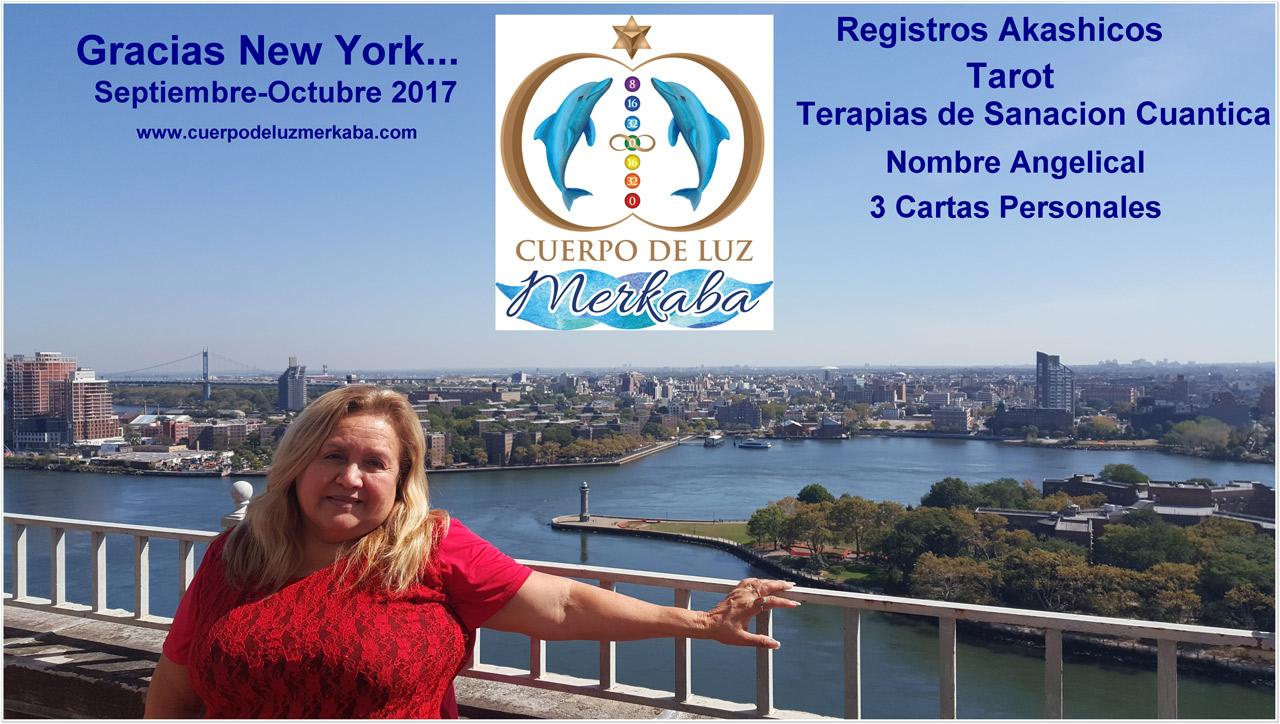 Cuerpo de Luz Merkaba - Gracias New York