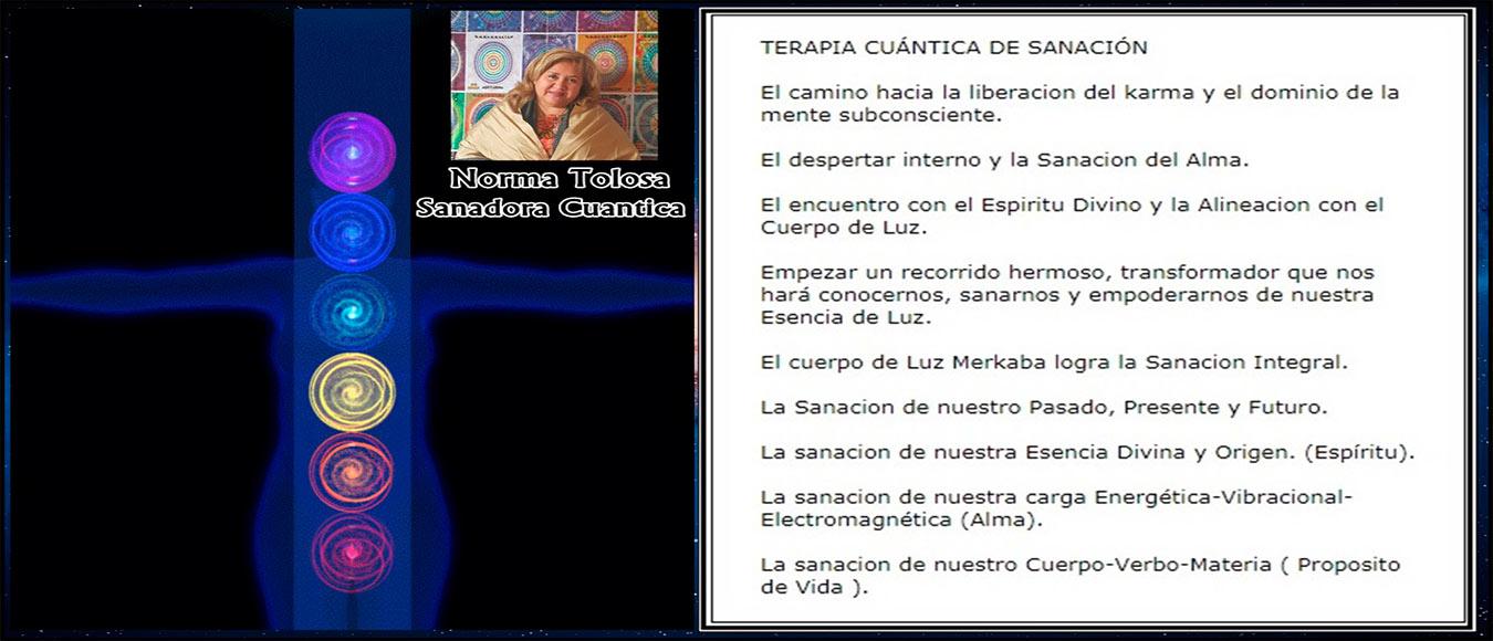 Norma Tolosa - Sanadora Cuántica