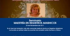 Maestría Registros Akashicos - Bolonia, Italia - 11 noviembre - Norma Tolosa