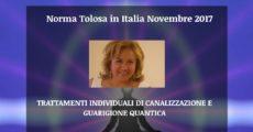 Sesiones Cuánticas con Norma Tolosa en Italia