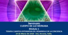 Seminario TERAPIA CUÁNTICA INTEGRATIVA DEL DESARROLLO DE LA CONCIENCIA Módulo 1