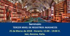 Seminario PRIMER NIVEL DE REGISTROS AKASHICOS