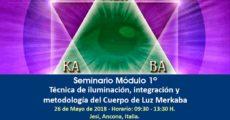 Modulo 1 - Tecnica, Integrazione e Metodologia del Corpo di Luce MERKABA