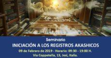 Seminario Iniciación a Los Registros Akashicos