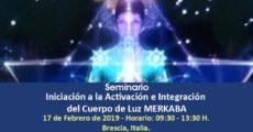 """Seminario """"Iniciación a la Activación e Integración del Cuerpo de Luz MERKABA"""""""