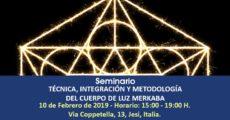 Seminario Técnica, Integración y Metodología del Cuerpo de Luz Merkaba